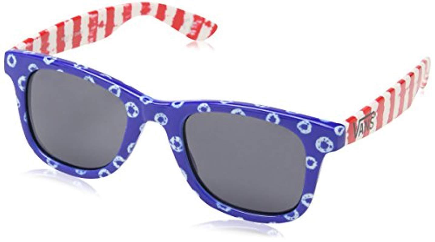c16d4db4420 Vans G Janelle Hipster Su Black Gradient Sunglasses in Blue - Lyst
