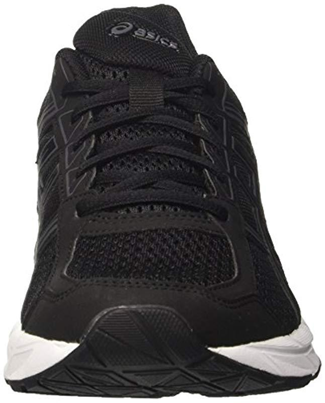 1595cef10b428 Asics Gel-contend 4 Running Shoes in Black for Men - Lyst