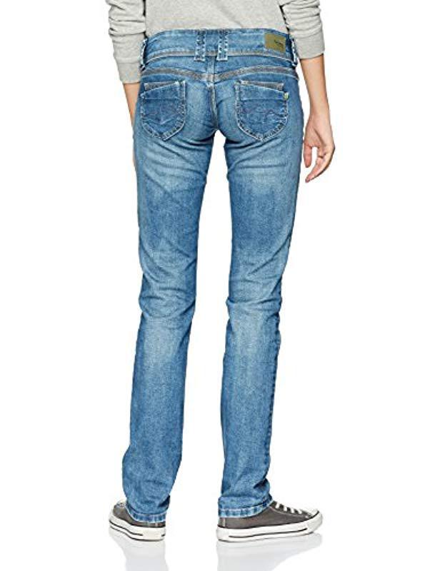 Pepe Jeans Venus Straight in Blue - Lyst a88f6c945b