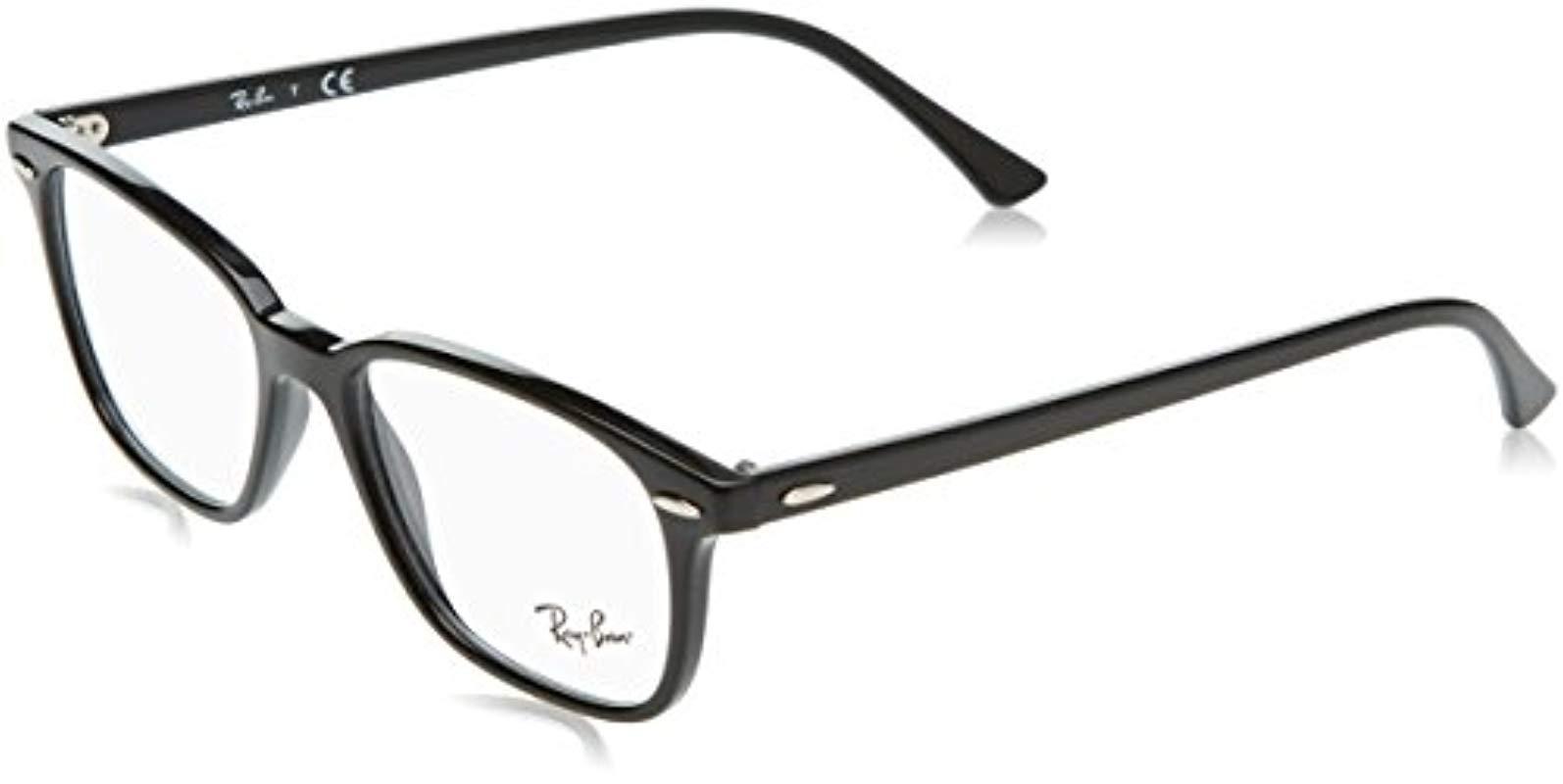 19f042d1b4 Ray-Ban Rx7119 Glasses In Black Rx7119 2000 53 in Black - Lyst
