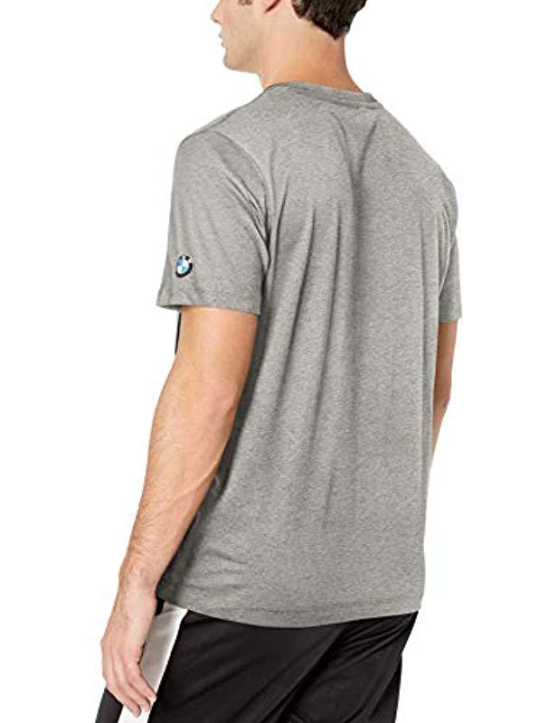 62f3ce90679 Lyst - PUMA Bmw Motorsport Mms Logo Tee in Gray for Men - Save 5%