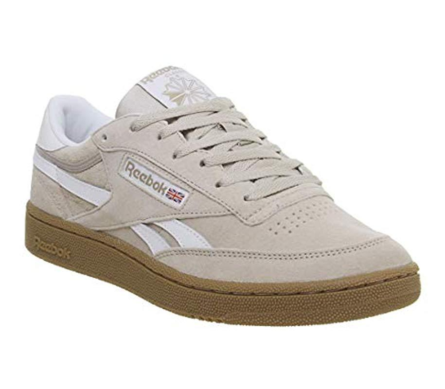 bb0928c37b653 Reebok Revenge Plus Mu Gymnastics Shoes in Natural for Men - Lyst