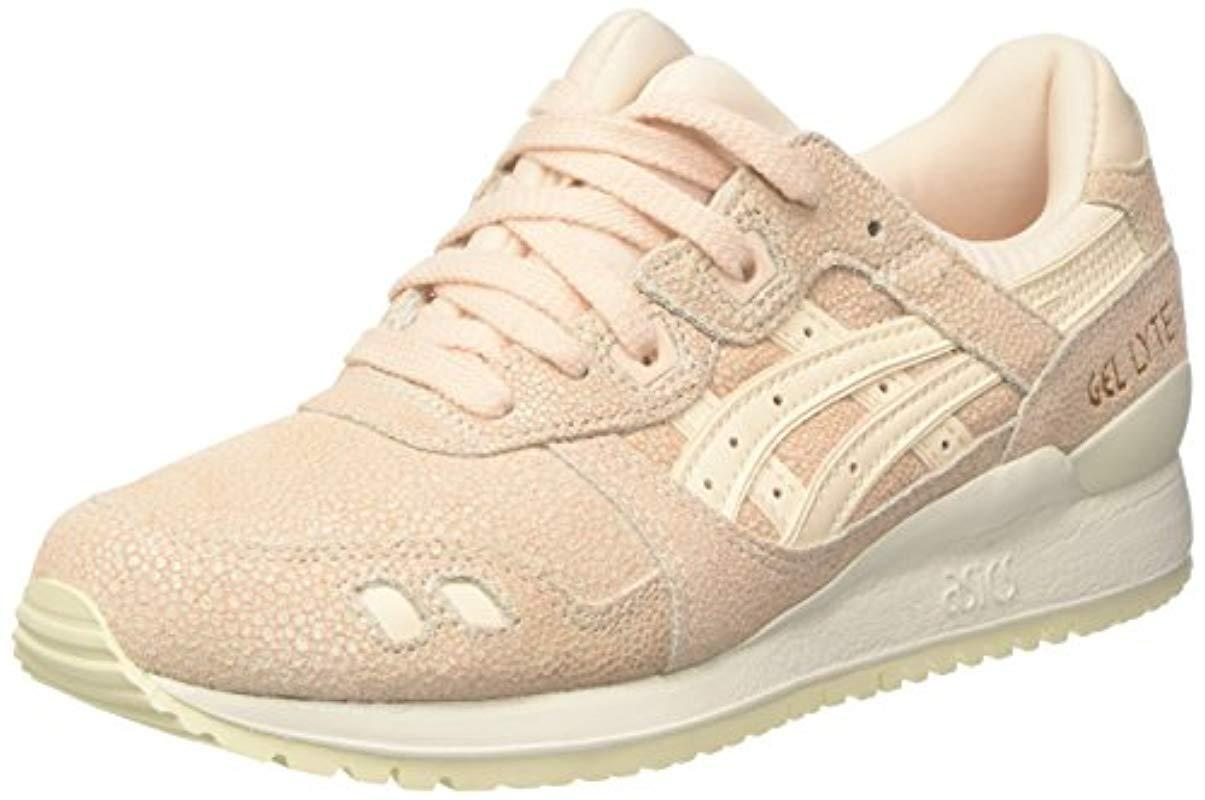 big sale dc330 1045a Asics Gel-lyte Iii Trainers in Natural - Lyst