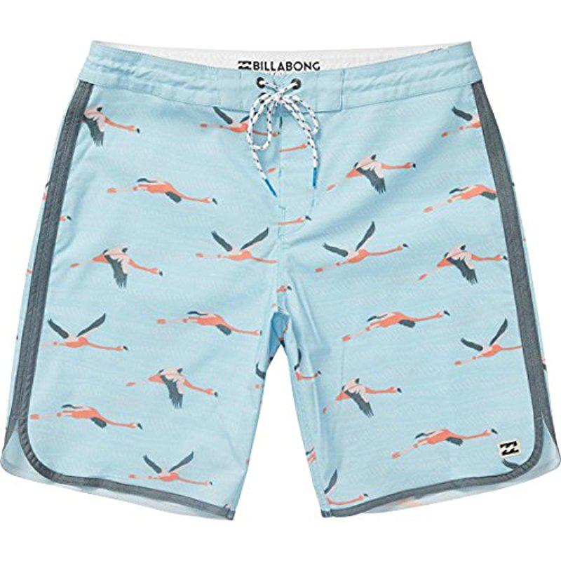 3654170073 Lyst - Billabong Lo Tide Stretch Boardshorts in Blue for Men