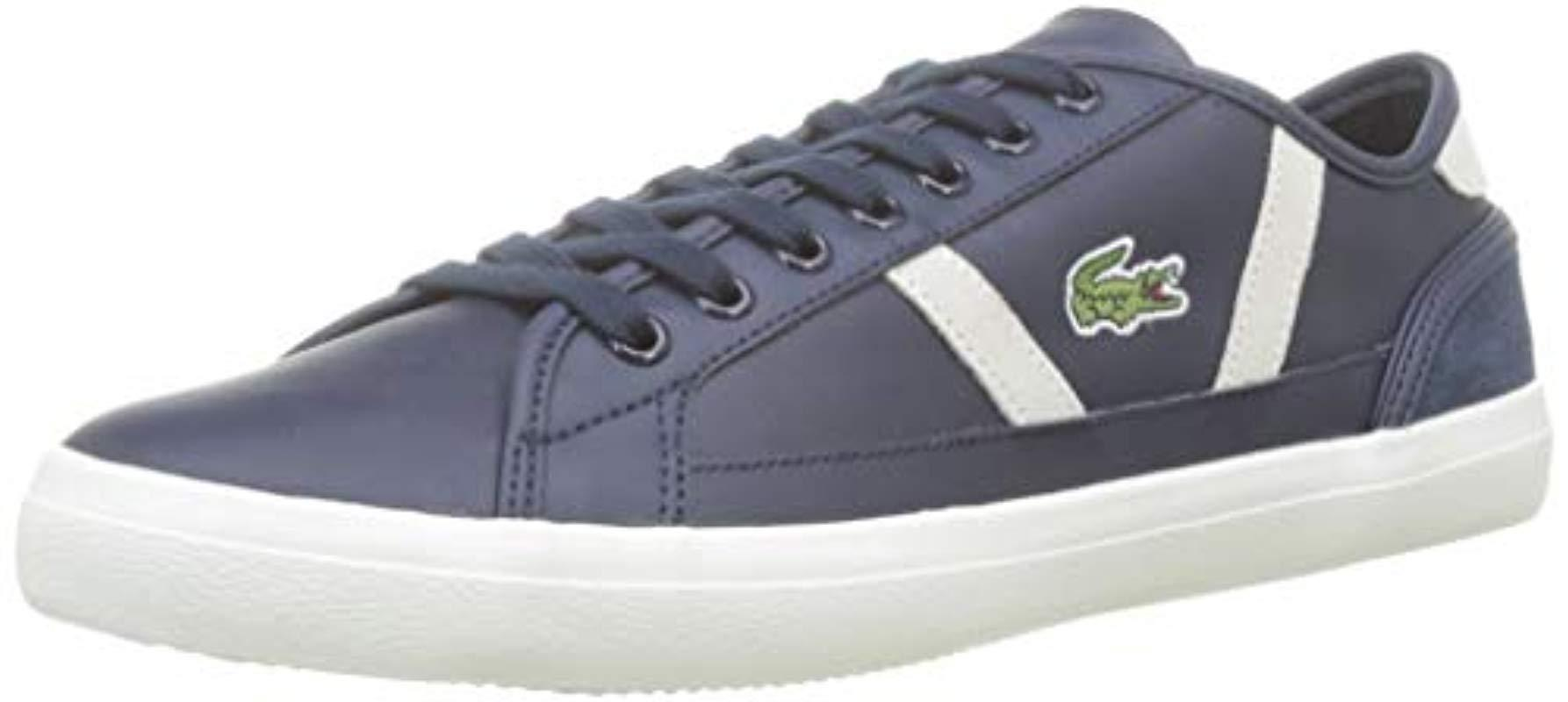 superior quality 3b066 a9ae2 Lacoste Sideline 119 3 Cma Trainers in Blue for Men - Lyst