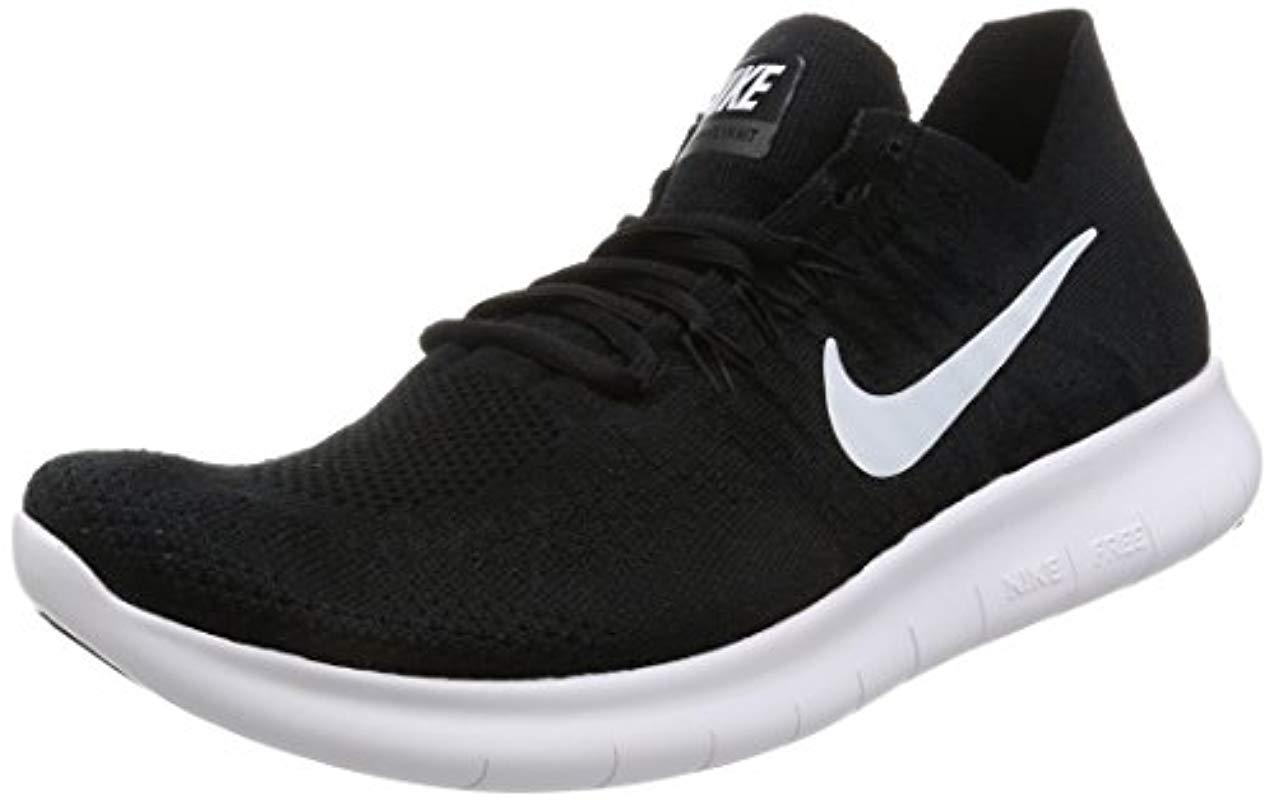 4d87d3b47ea0a Nike Free Rn Flyknit 2017 Training Shoes in Black for Men - Save ...