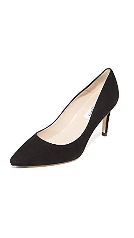 5fab29a77205 L.K.Bennett. Women s Black Floret - Single Sole Poi Closed-toe Court Shoes