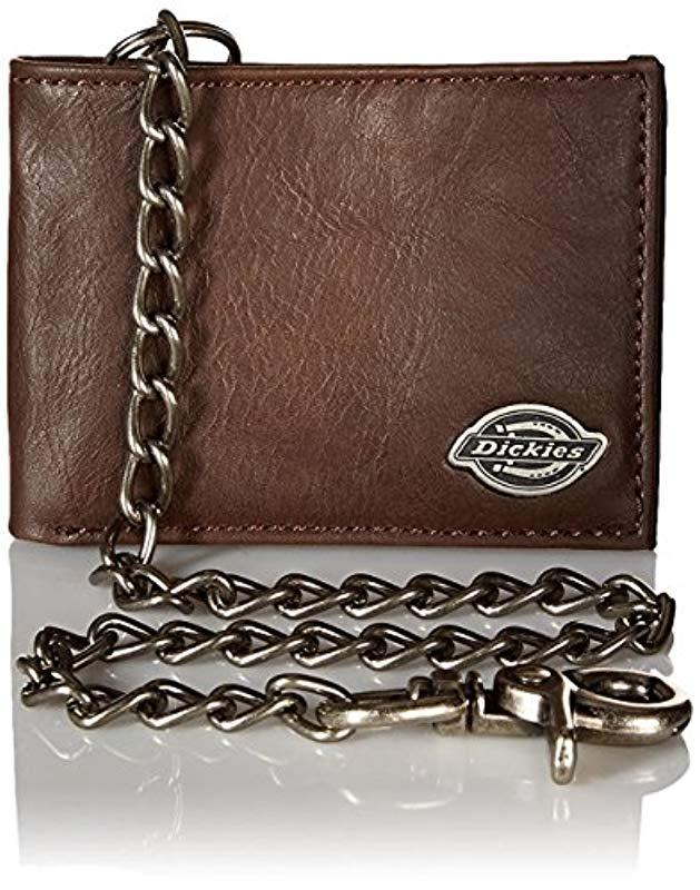 9f08421e52cd Lyst - Dickies S Wallet With Chain in Brown for Men - Save 6%