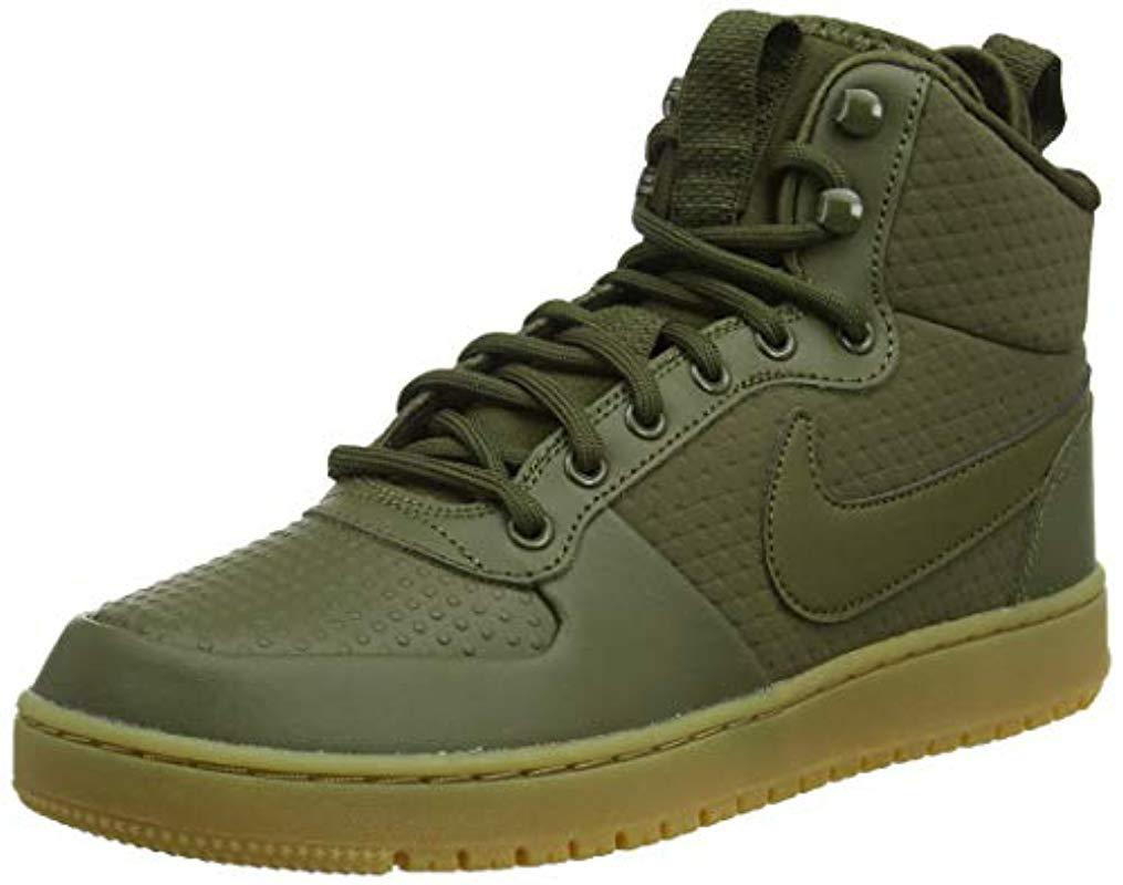 599f9c10d1ba Nike Ebernon Mid Winter Gymnastics Shoes in Green for Men - Save 14 ...