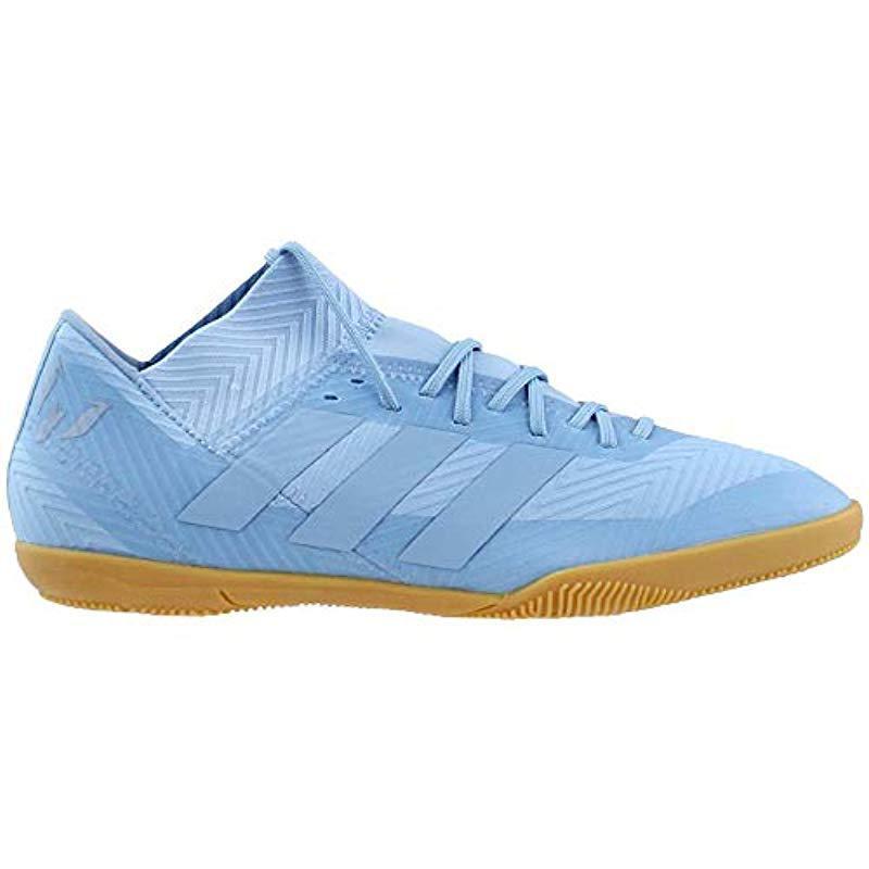 23f7073643b Adidas Originals - Blue Nemeziz Messi Tango 18.3 Indoor Soccer Shoe for Men  - Lyst. View fullscreen