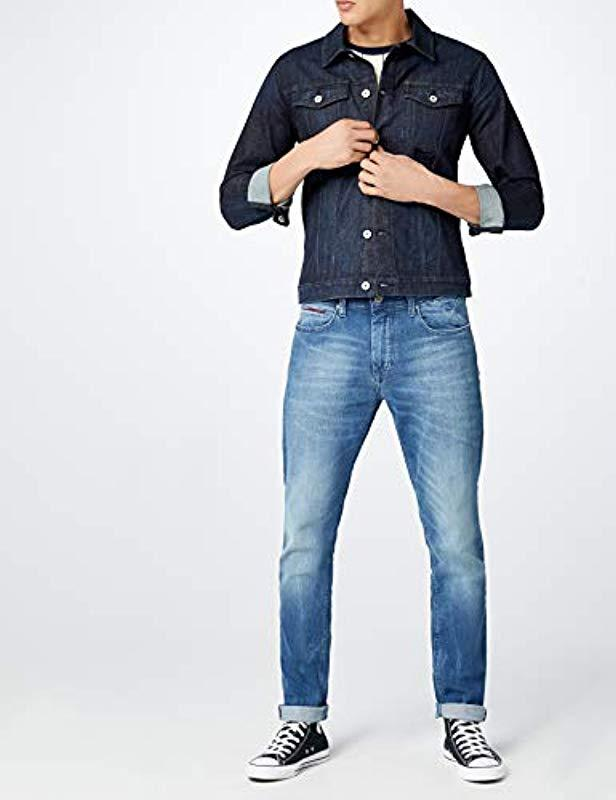 488e11dc1 Tommy Hilfiger Tapered Steve Slim Jeans in Blue for Men - Lyst