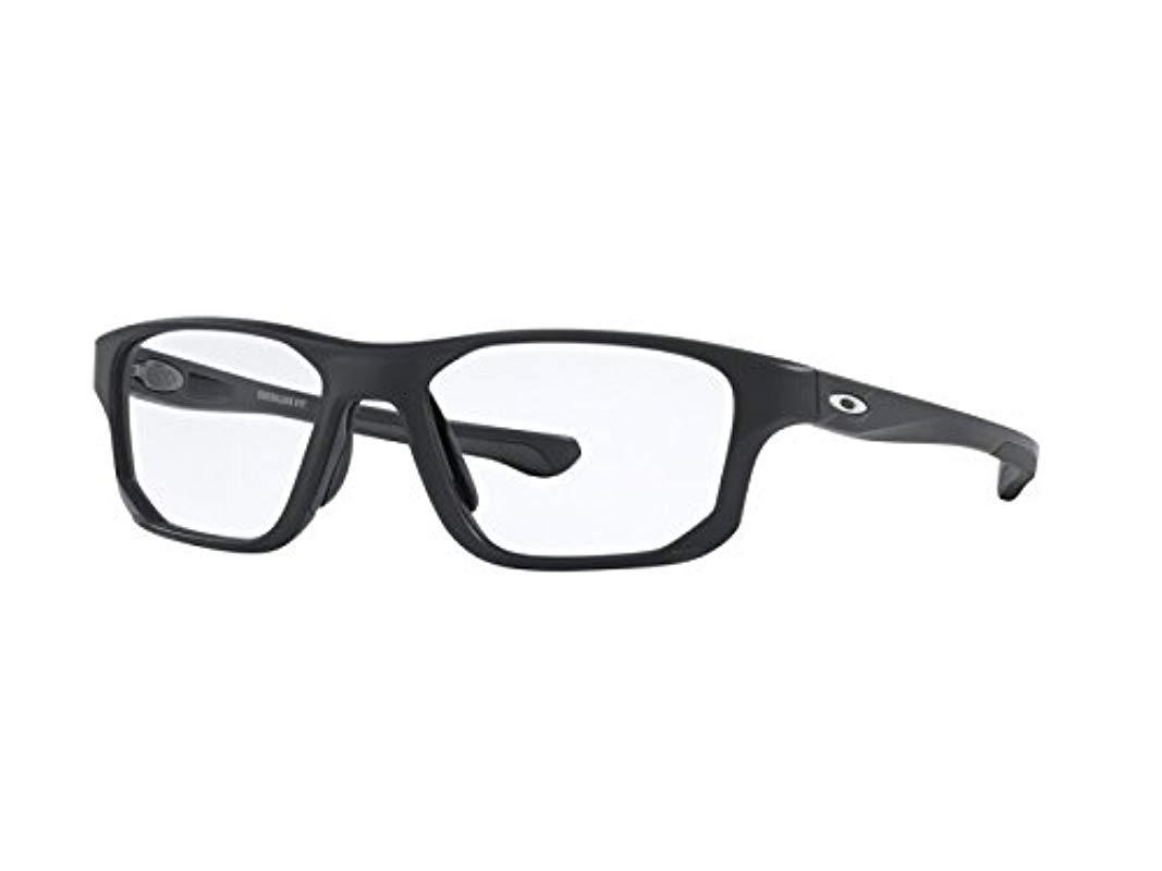 0e17047852 Ray-Ban. Men s Gray Crosslink Fit Optical Frames ...
