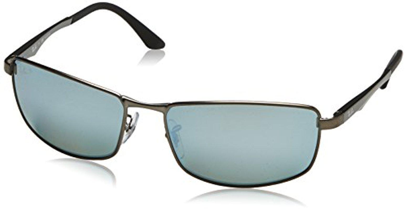 Lyst - Ray-Ban Rb3498 029 y4 Polarized Sunglasses ed4839157cd