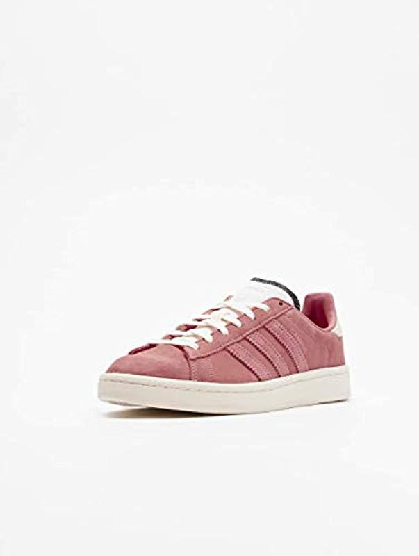 new arrival 405cf c63e6 adidas Campus W Fitness Shoes in Red - Lyst