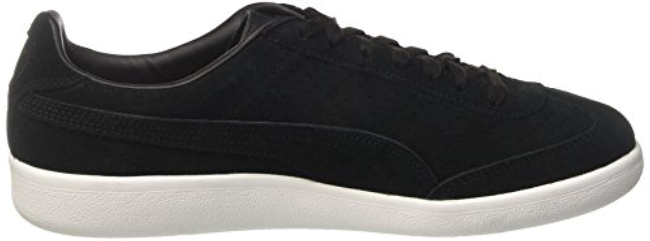 9008bcfc6389 PUMA Madrid Perf Suede Wn s Trainers in Black - Lyst