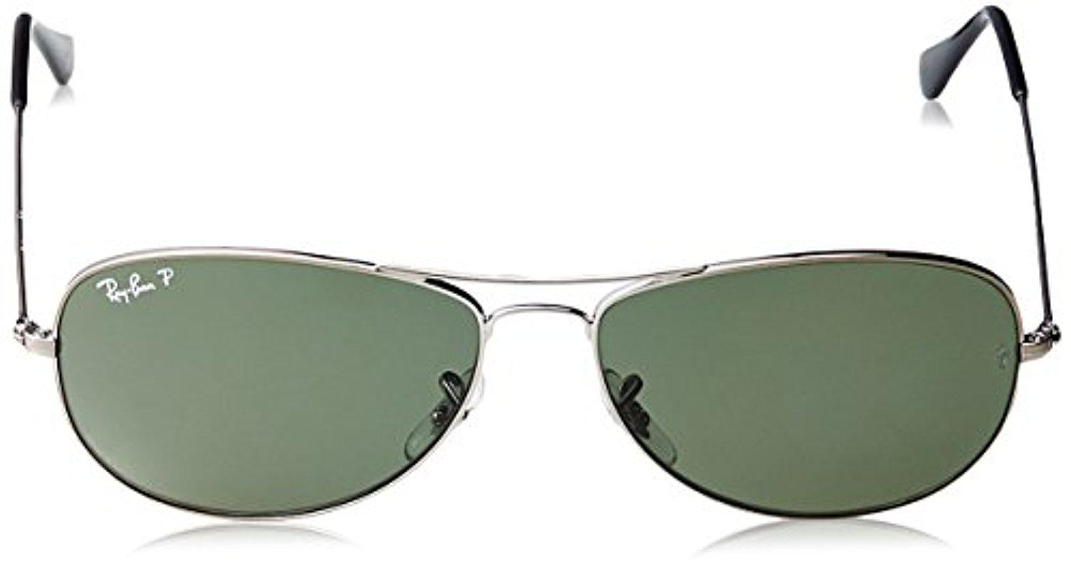 d47c307a77 Lyst - Ray-Ban Cockpit - Shiny Black Frame   Lenses 59mm in Black ...