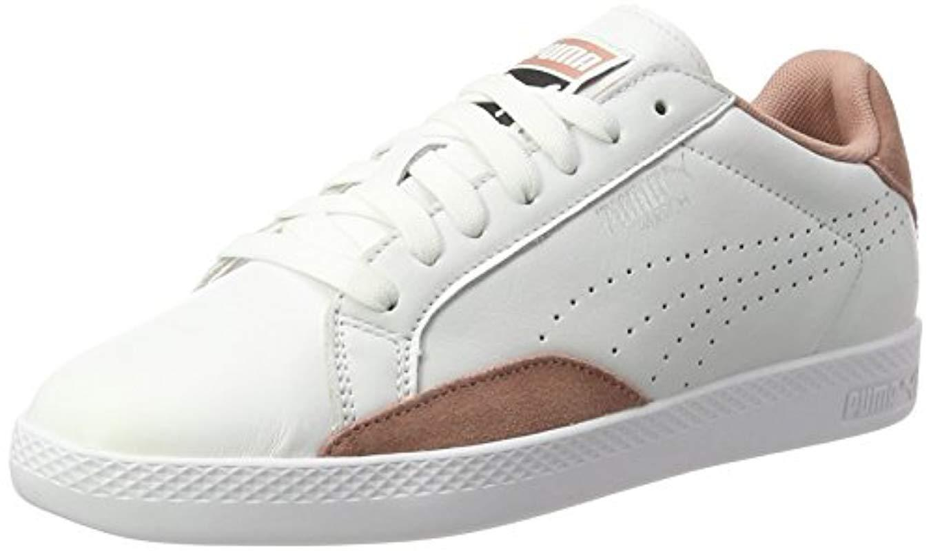 b4226ac7d88c Puma Match Lo Classic Trainers in White - Lyst