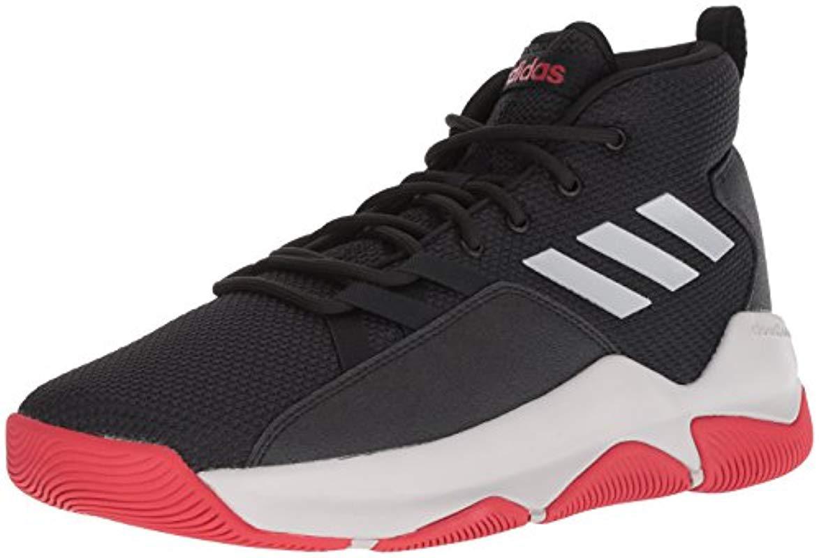 finest selection f7d59 3dd89 adidas. Mens Black Streetfire Basketball Shoe