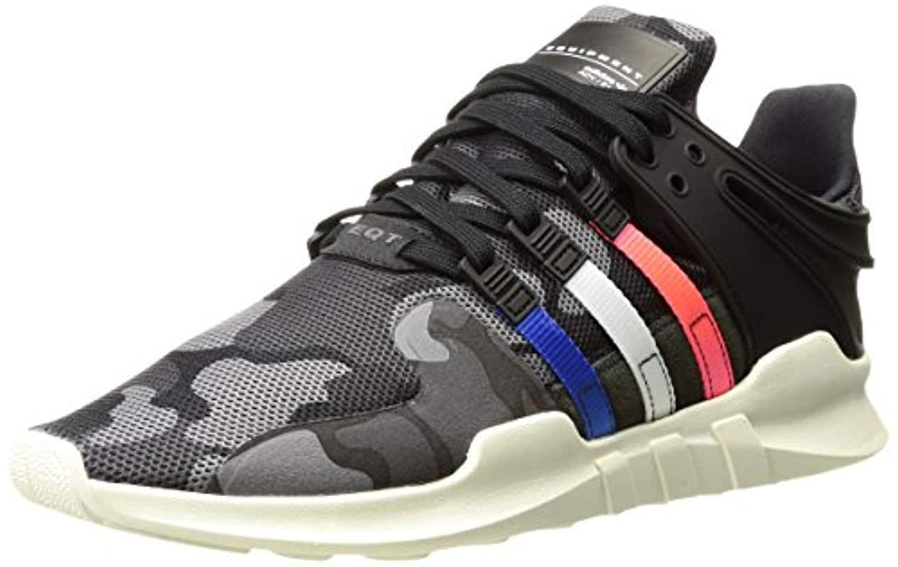 88320ee48a4 Lyst - adidas Originals Eqt Support Adv Fashion Sneakers in Black ...