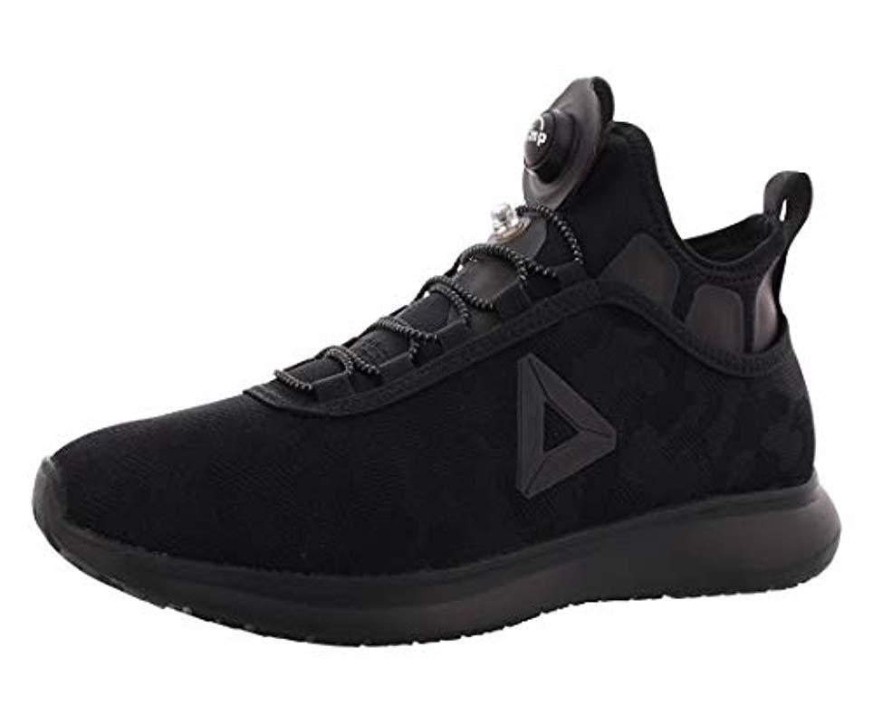 71b44ad29 Reebok For Running Lyst Black Camo In Men Pump Plus Shoe qzMVSUp