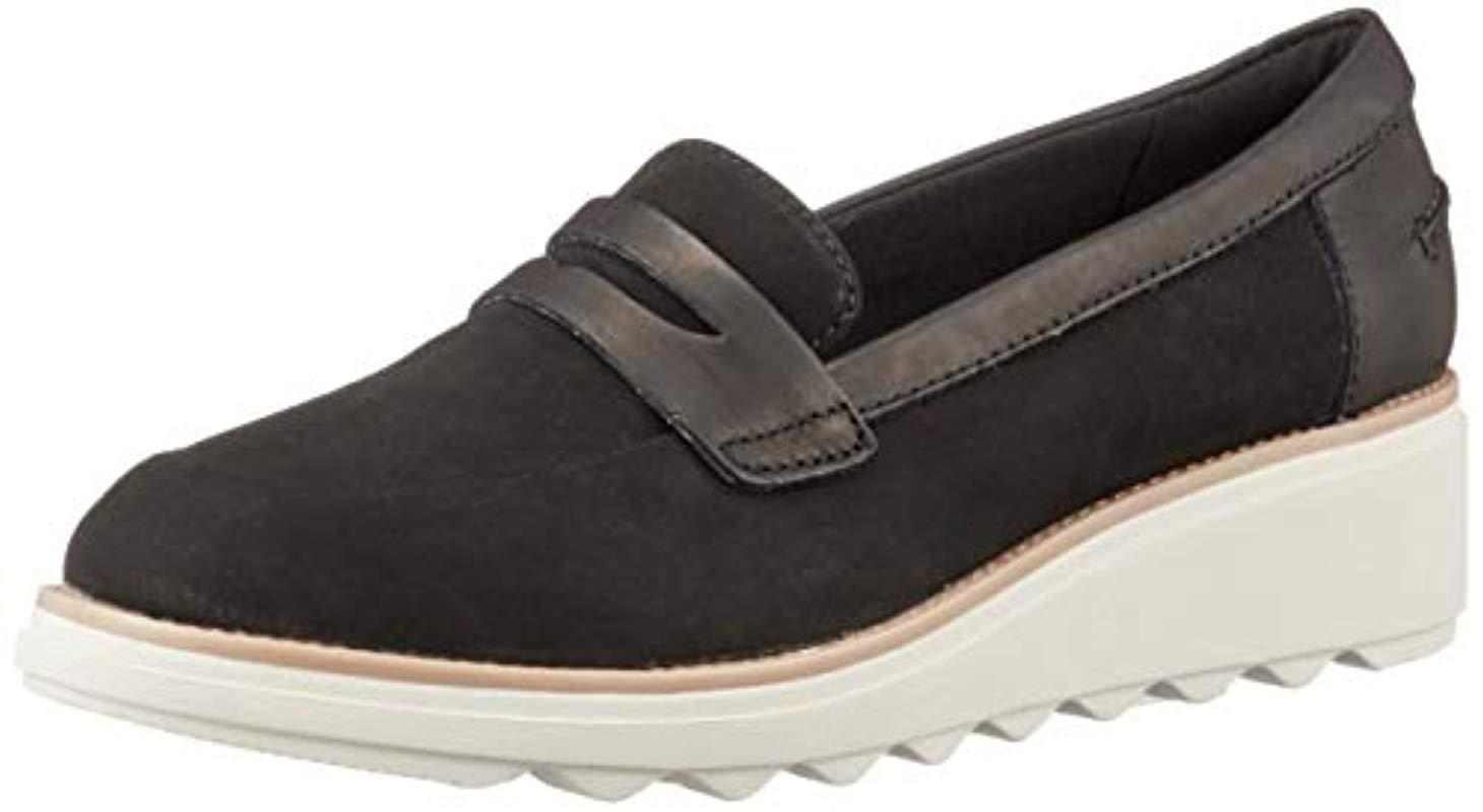 3ef45dad77e Clarks - Black Sharon Ranch Loafers - Lyst. View fullscreen