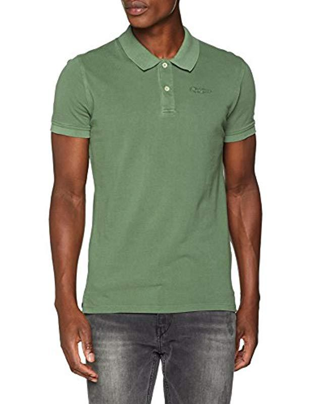 2fa5f2e1 Pepe Jeans Rotten Polo Shirt in Green for Men - Lyst