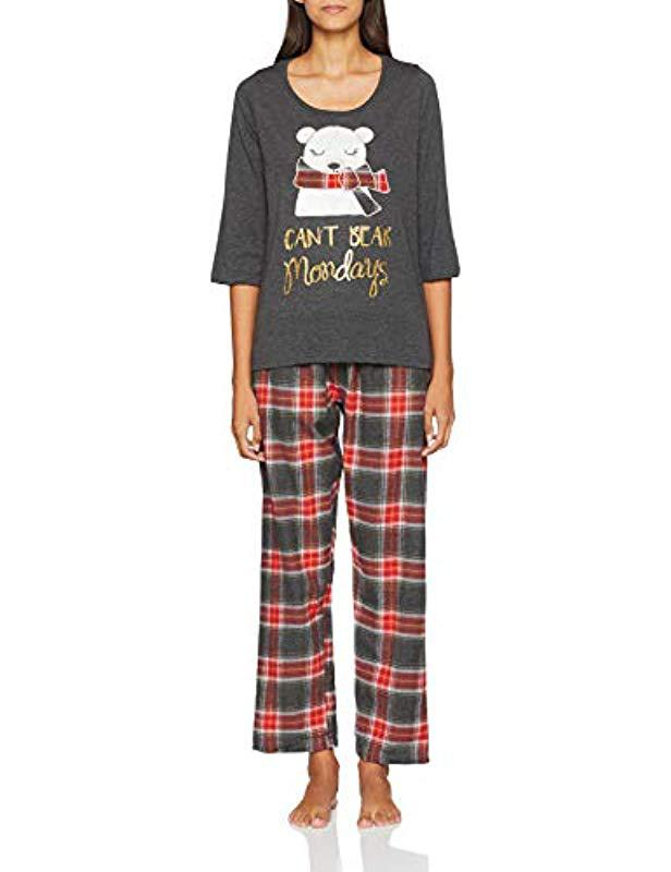 aeac134923 Dorothy Perkins Cant Bear Mondays Pyjama Sets in Gray - Save 20.0 ...