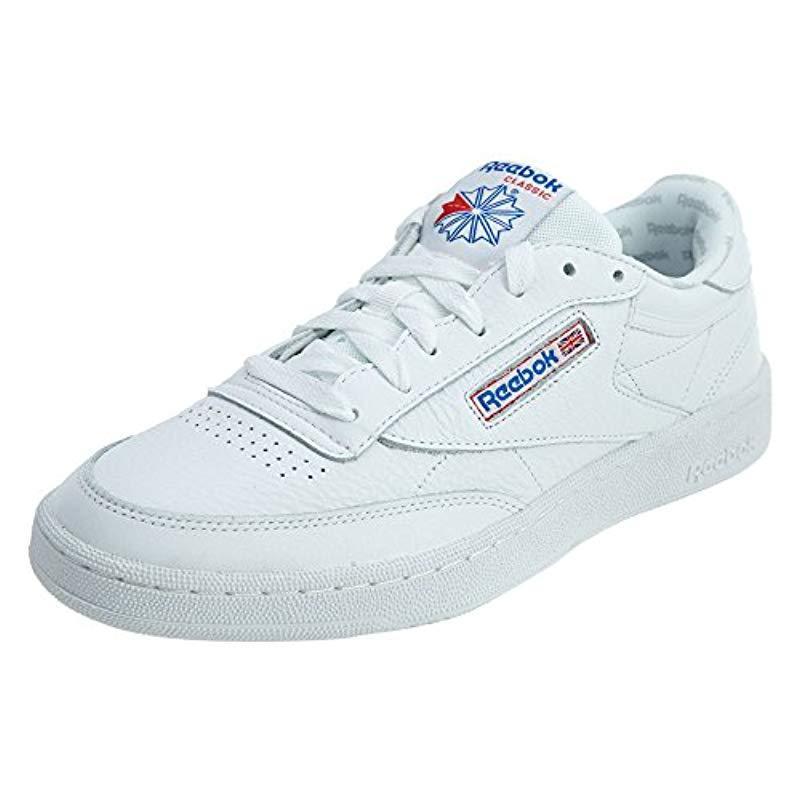 29dbb958ef2b Lyst - Reebok Club C 85 So Fashion Sneaker in Blue for Men - Save 56.25%