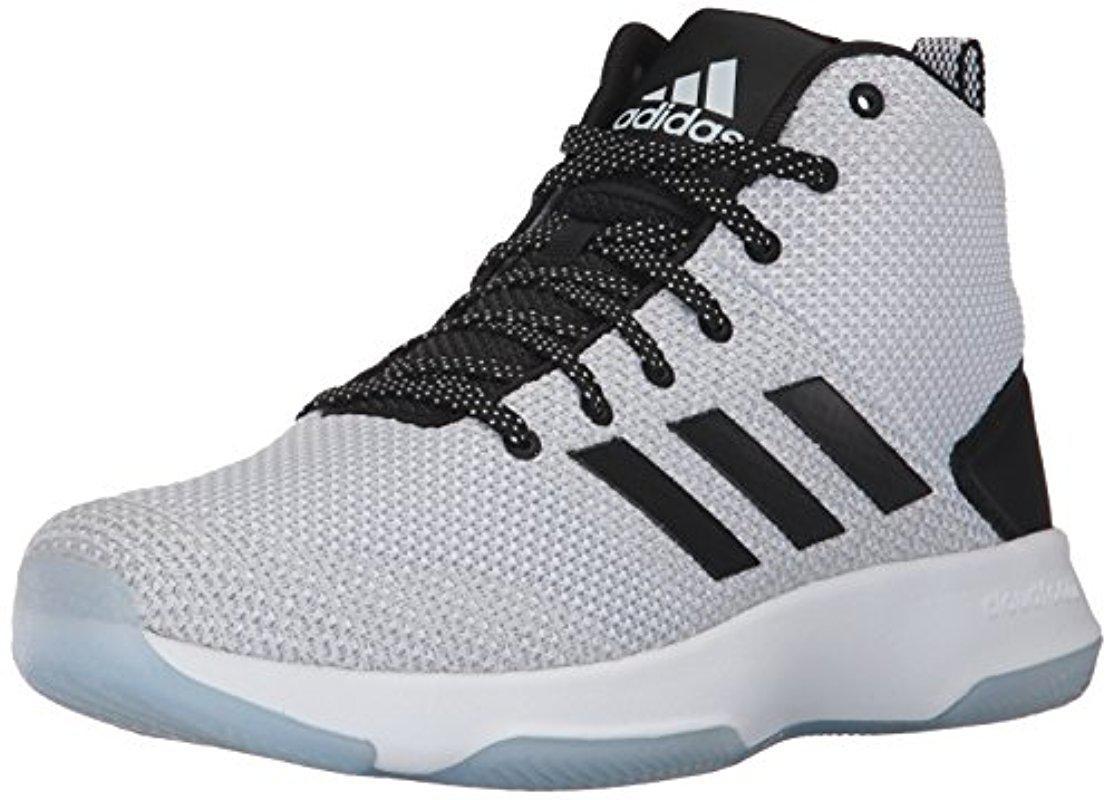 Lyst Adidas CF encendido mediados de zapatilla de baloncesto en gris para hombres