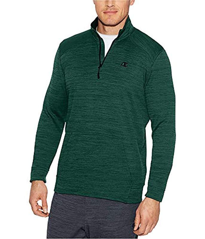 badfbf05e4c0 Lyst - Champion Premium Performance Fleece Quarter-zip Pullover in ...