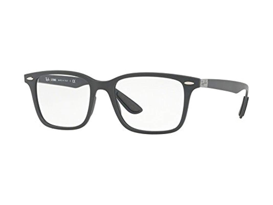 20cdadb195 Ray-Ban. Men s Gray 0rx 7144 5521 53 Optical Frames ...