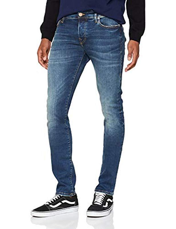1db2026893ea62 True Religion 's Toni Trueflex Destroyed Skinny Jeans in Blue for ...