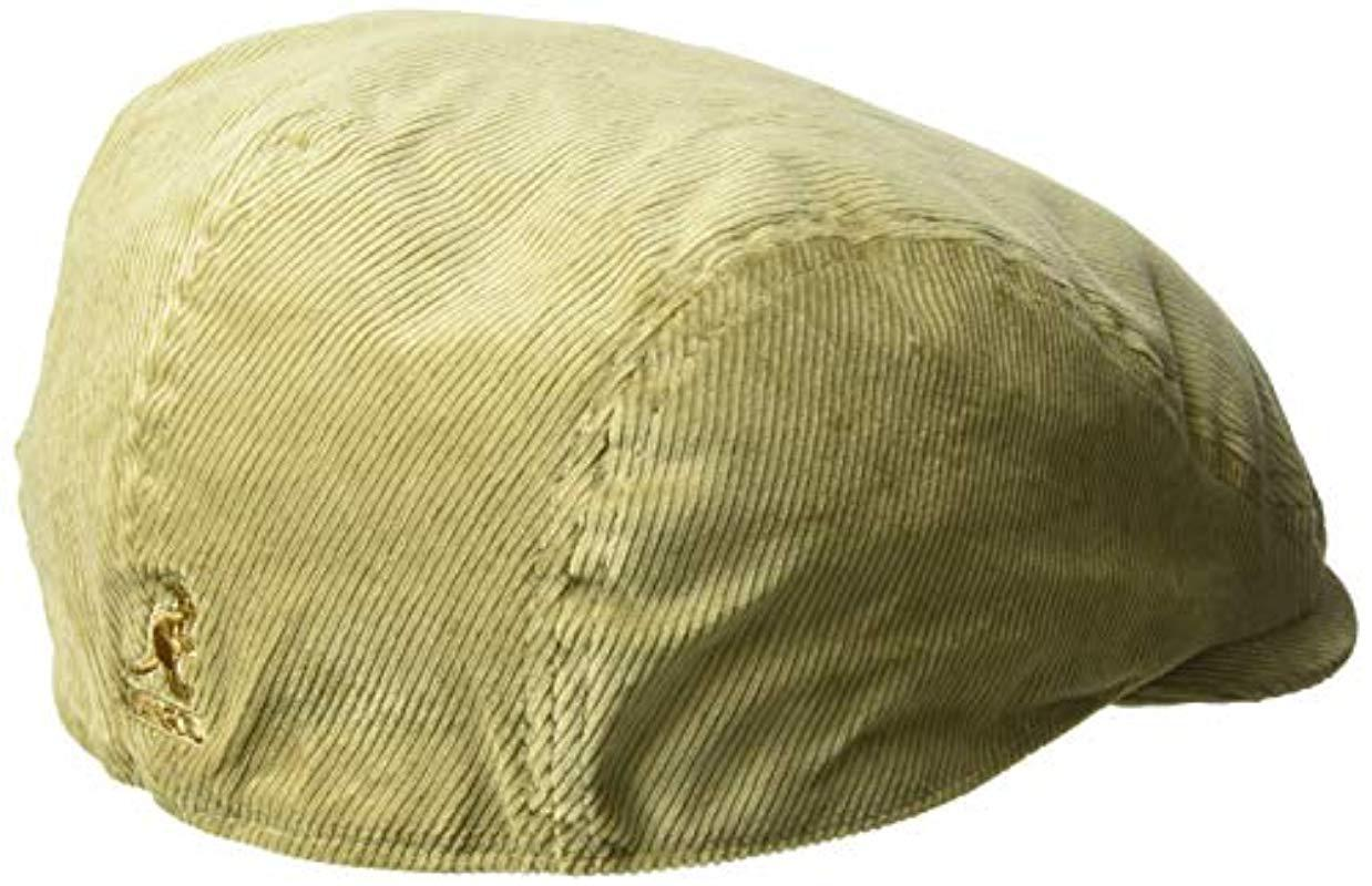 b4f126b9bbe Kangol - Natural Cord Flat Ivy Cap Hat for Men - Lyst. View fullscreen
