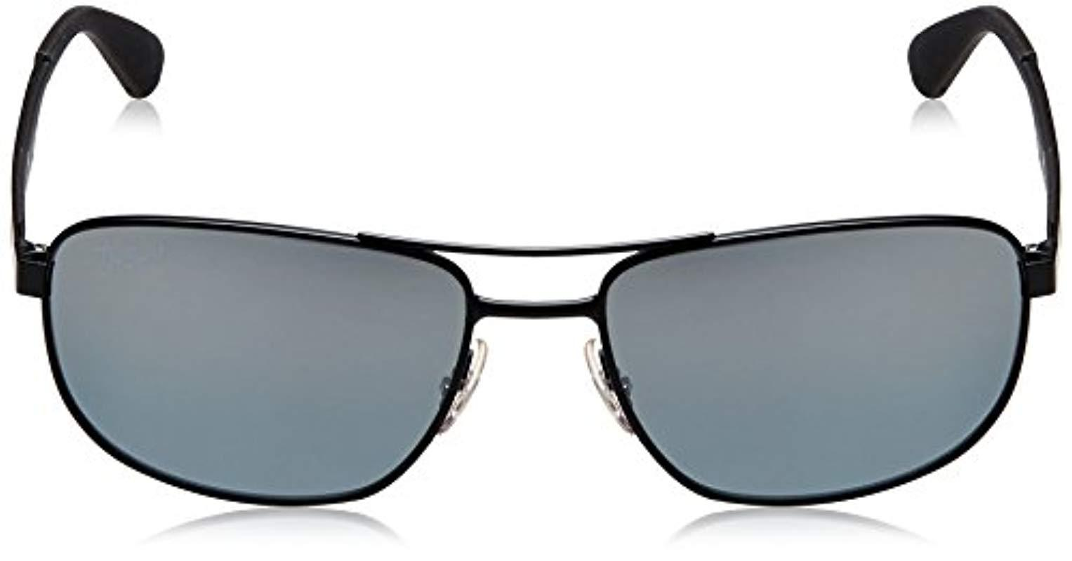 032a162306 Ray-Ban - Metal Sunglasses In Matte Black Green Rb3528 006 71 61 for. View  fullscreen