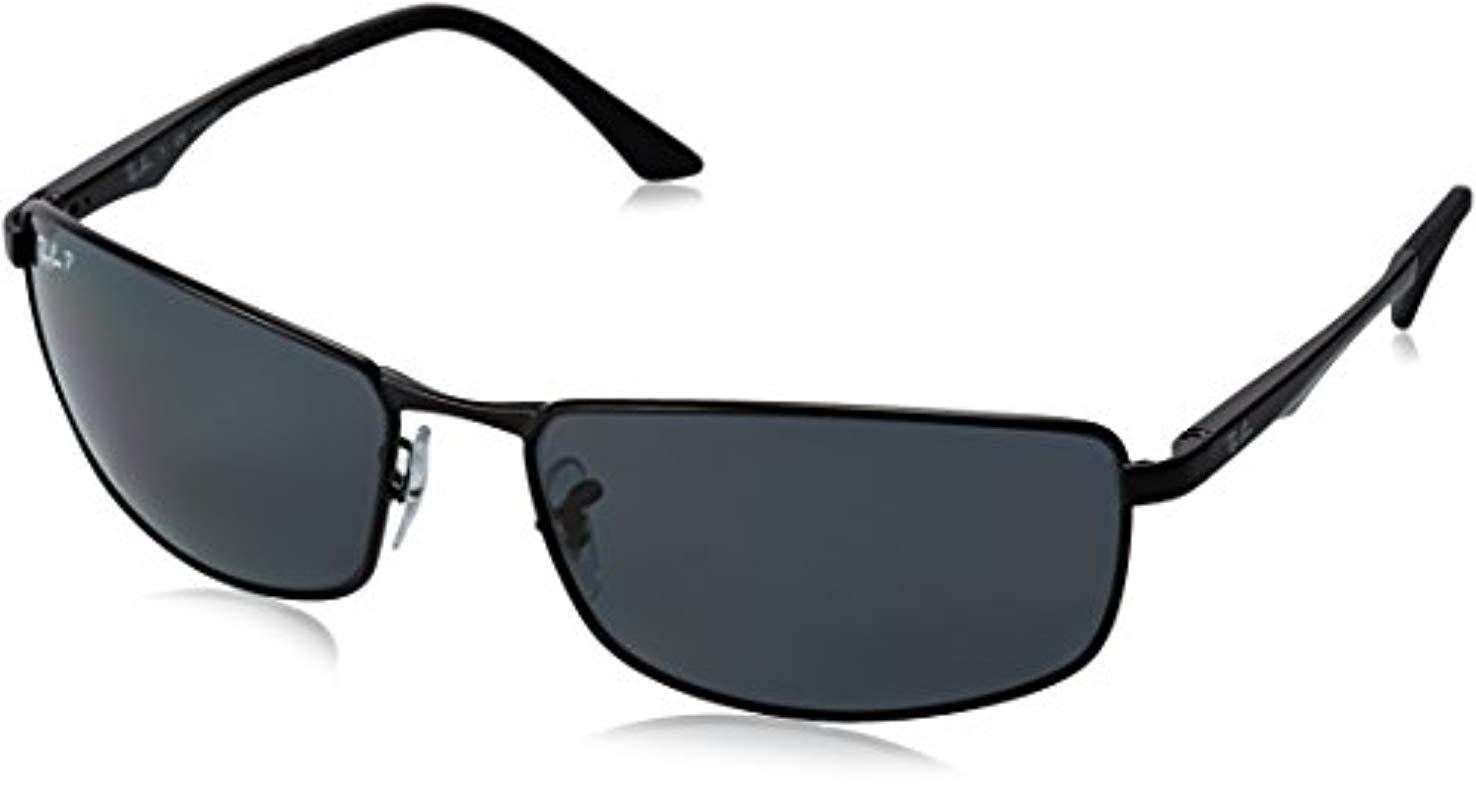 db7d143a50 Gafas Sol Ban Color Para Lyst Hombre Ray Negro De MSGUpqVz