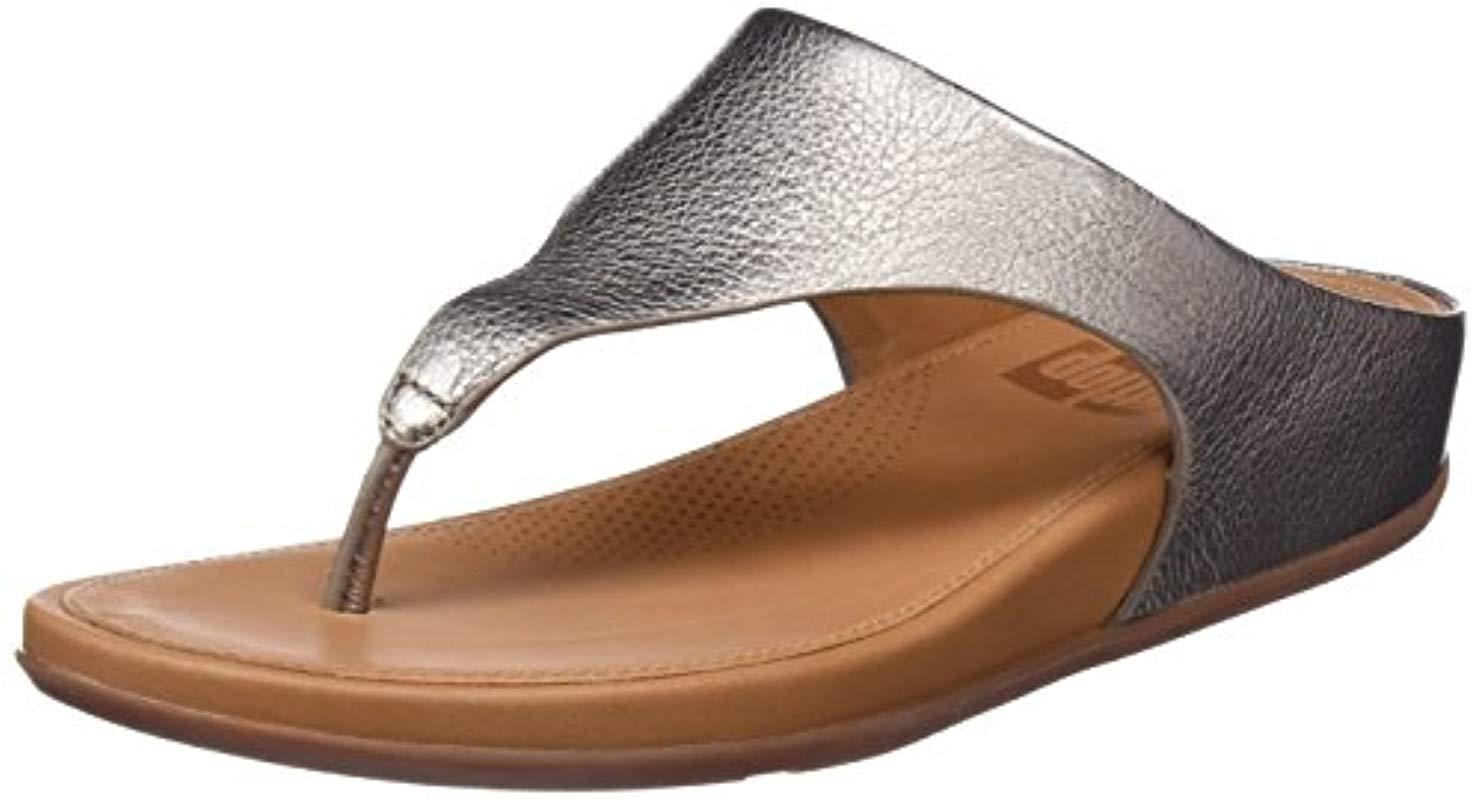 80bd1dff92825a Fitflop Banda Platform Sandals in Brown - Lyst
