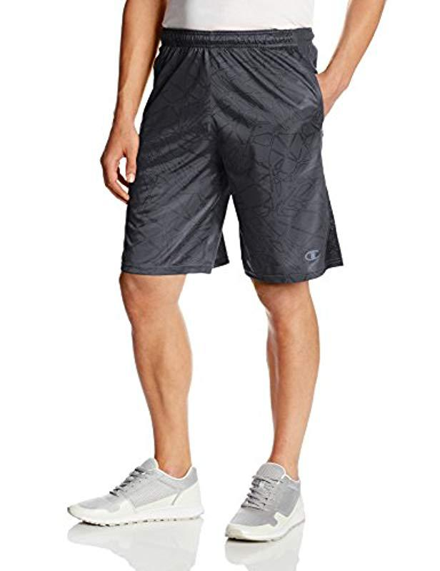 7f66f5182a96 Lyst - Champion Powertrain Double Dry Performance Short in Gray for ...