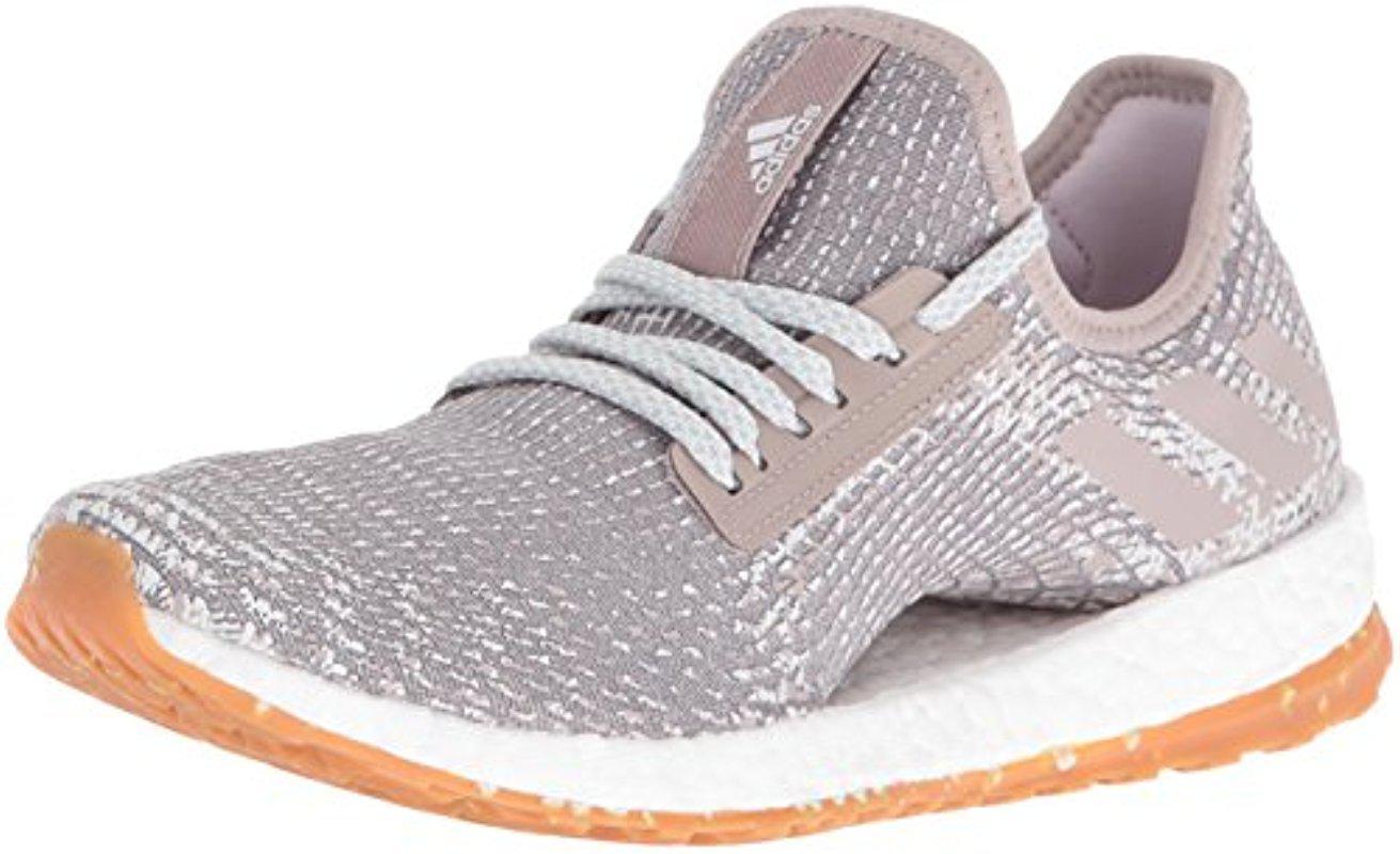 649bfebacc6aa Lyst - adidas Performance Pureboost X Atr Running Shoe in Gray