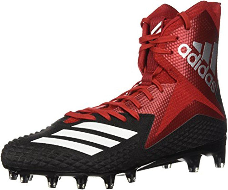 Lyst Adidas Originals Freak X Carbon Mid Football Shoe In Red For Men