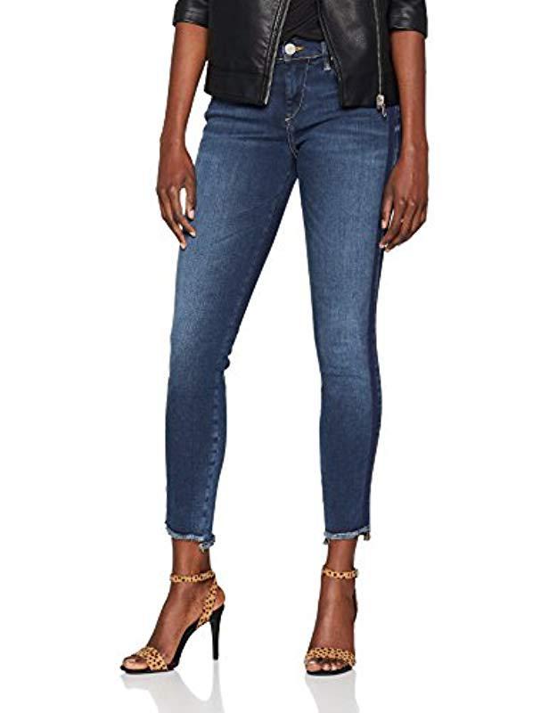 bddae8d861cc True Religion Halle Blue Navy Stripes Skinny Jeans in Blue - Lyst
