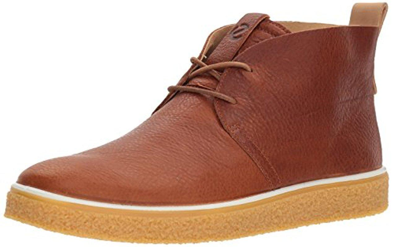 Ecco - Brown Crepetray Chukka Boot for Men - Lyst. View fullscreen