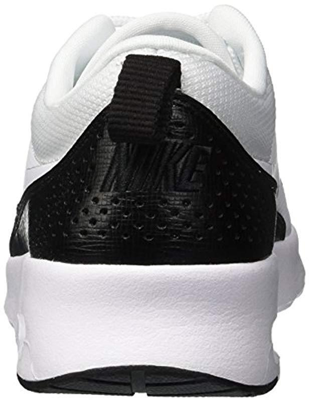 innovative design e7b9c a81ed Nike Air Max Thea Low-top Sneakers Black in White - Save 33%