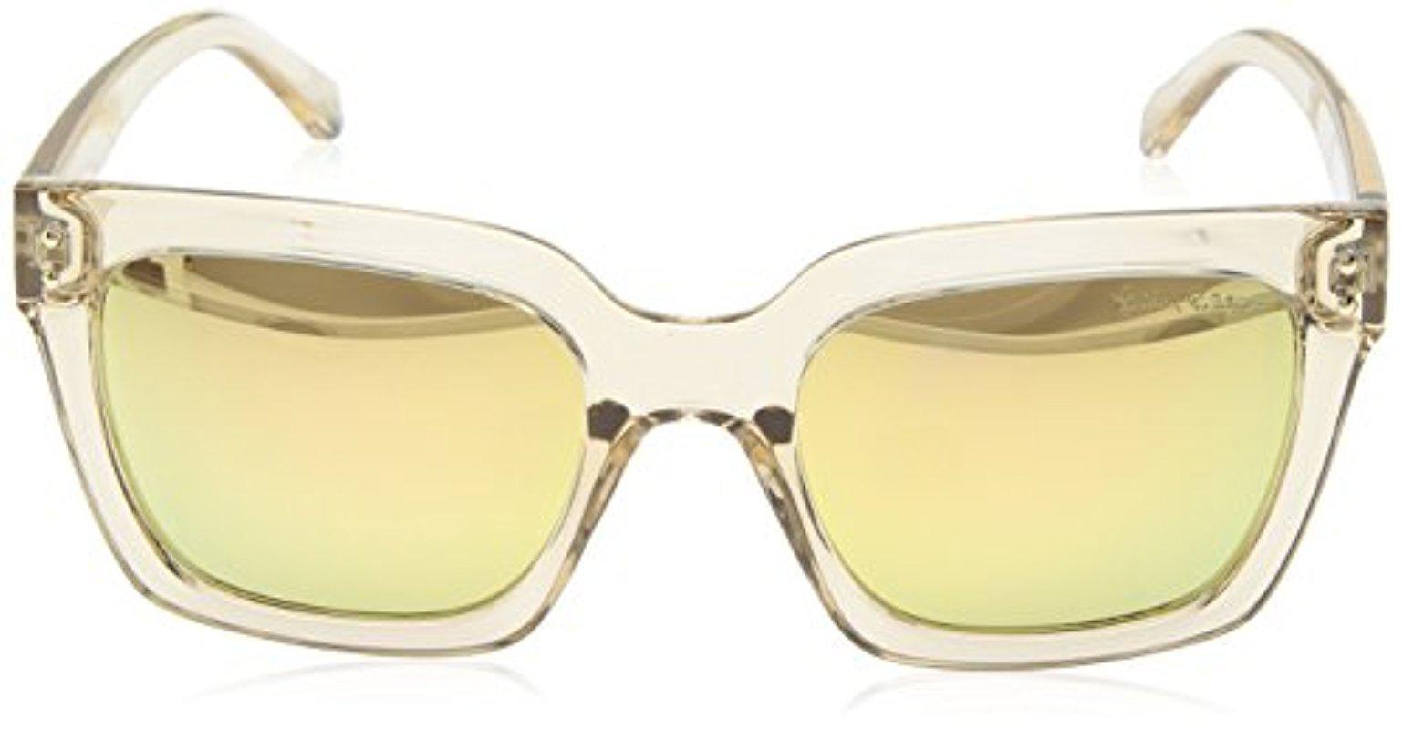 12daf890b4 Lyst - Lilly Pulitzer Celine Polarized Square Sunglasses