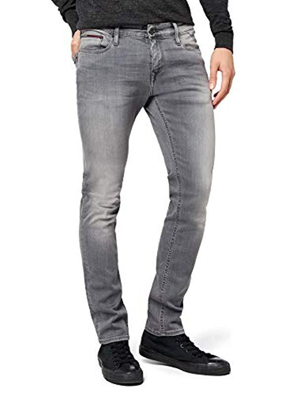 3aac0fba8 Tommy Hilfiger Sidney Skinny Jeans in Gray for Men - Lyst