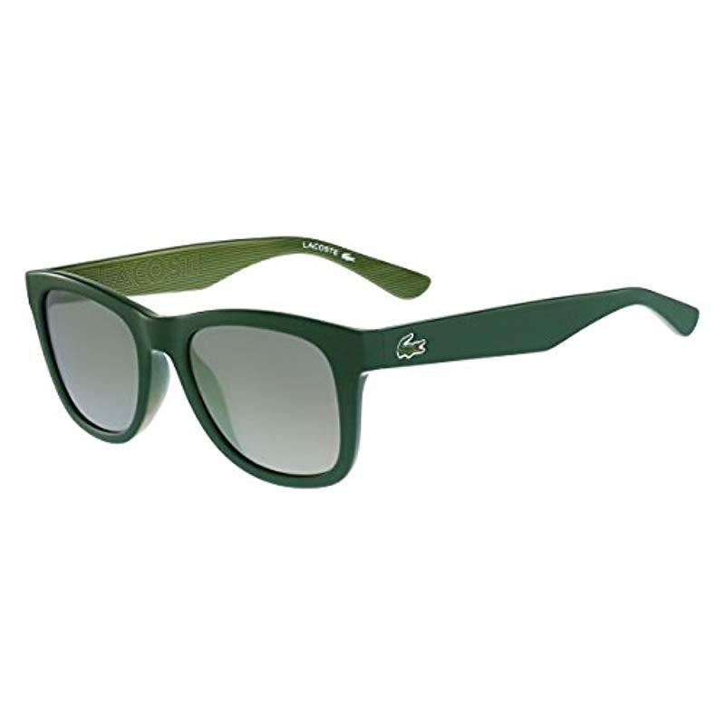 Lacoste Unisex s L789s 315 53 Sunglasses, Matt Green in Green for ... cf3f02b60a2d