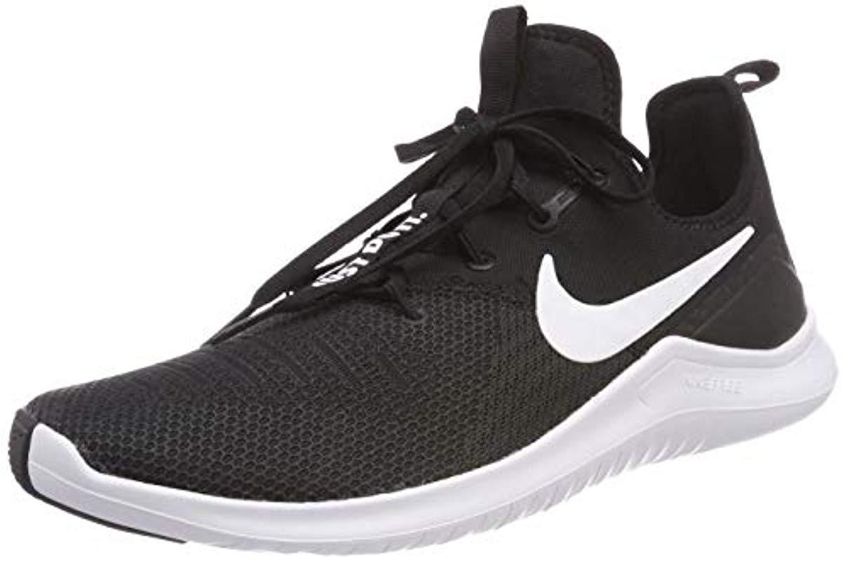 8da80d2720f Nike  s Free Tr 8 Gymnastics Shoes in Black - Lyst