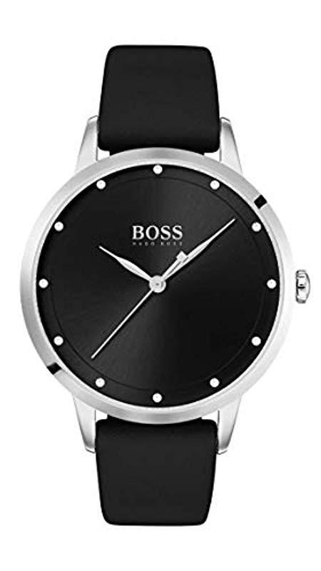 7972fdbe5b57 Reloj de Pulsera 1502460 BOSS de color Negro - Lyst