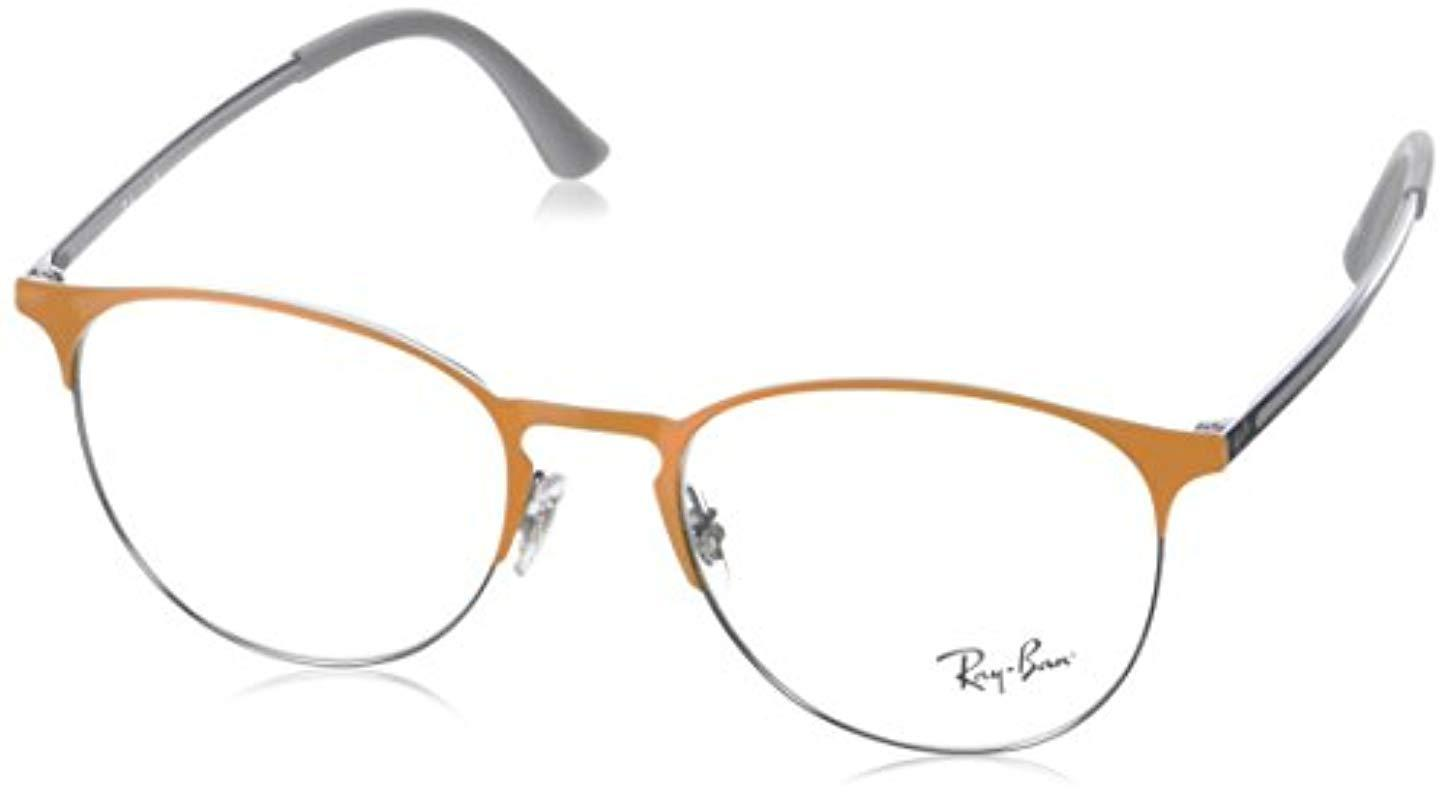 7b16ee31fa Ray-Ban 0rx 6375 2949 51 Optical Frames