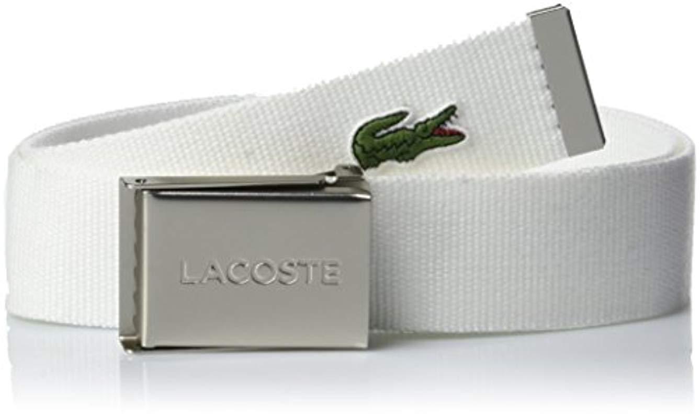 1c201f1c1d4cf2 Lacoste Belt in White for Men - Lyst