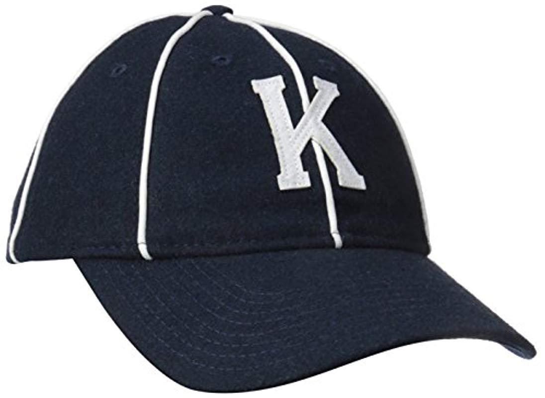 b88212834c3d7 Lyst - Kangol Vintage 8 Panel Baseball in Blue for Men